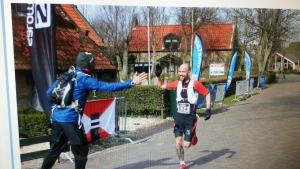 Pascal van Norden winnaar ZERO Ultra60 Vuurtoren Trail Ameland 2015